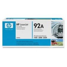 Cartucho original de tóner negro HP 92A LaserJet(C4092A)