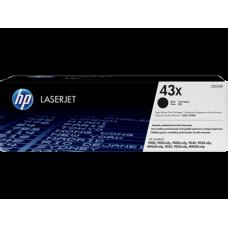 Cartucho original de tóner negro de alto rendimiento HP 43X LaserJet(C8543X)