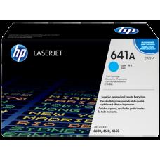Cartucho original de tóner cian HP 641A LaserJet(C9721A)