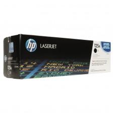 Cartucho original de tóner negro HP 125A LaserJet(CB540A)