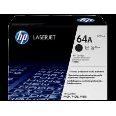Cartucho original de tóner negro HP 64A LaserJet(CC364A)