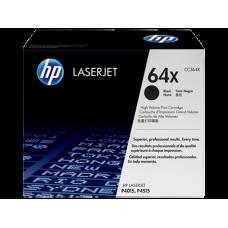 Cartucho original de tóner negro de alto rendimiento HP 64X LaserJet(CC364X)