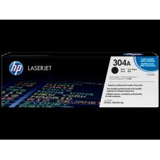 Cartucho original de tóner negro HP 304A LaserJet(CC530A)