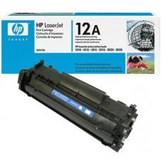 Cartucho original de tóner negro HP 12A LaserJet(Q2612A)
