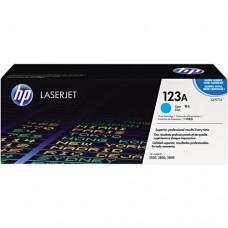 Cartucho original de tóner cian HP 123A LaserJet(Q3971A)