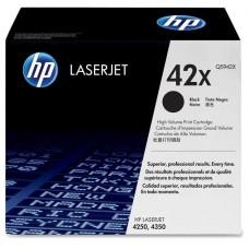 Cartucho original de tóner negro de alto rendimiento HP 42X LaserJet(Q5942X)