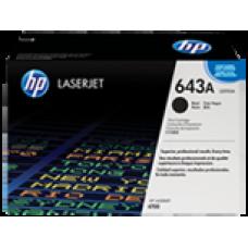 Cartucho original de tóner negro HP 643A LaserJet(Q5950A)