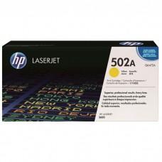 Cartucho original de tóner amarillo HP 502A LaserJet(Q6472A)