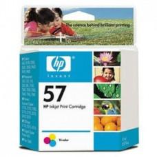 Paquete de 6 Cartuchos HP N 57 Tricolor