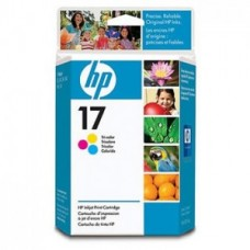 Paquete de 6 Cartuchos HP Tricolor N 17