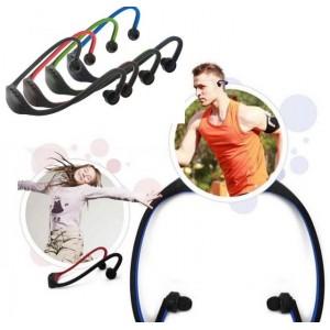 Audifonos Inalambricos Ligeros Bluetooth para Smartphone, Tablet, iPhone, iPad Rojo