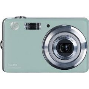 Cámara Fotográfica Digital Azul HP SW450