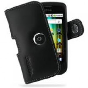 Funda de Cuero Original LG Optimus P500 -$80 pesos y Envio Gratis