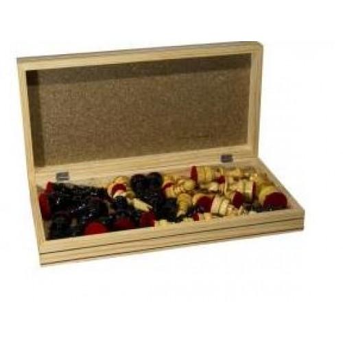 Tablero de ajedrez de madera con 32 piezas - Precios de tableros de madera ...