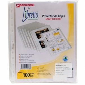 3 Paquetes de Protectores para Hojas Libretto