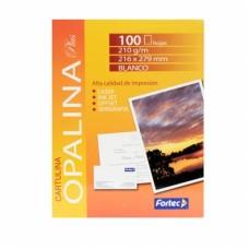 3 Paquetes de Papel Opalina con 100 Hojas cada Uno